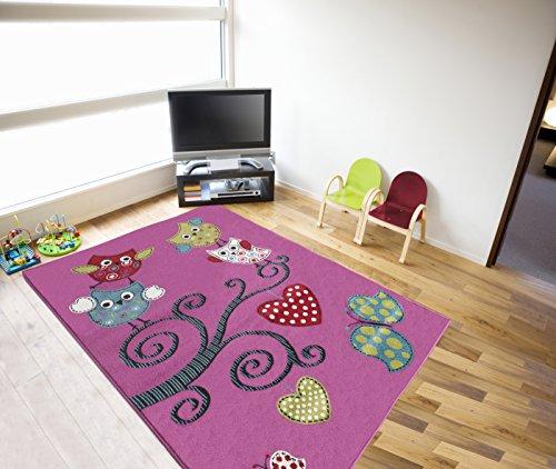 KIDS Ayyildiz alfombra morada 0420 80 X 150cm