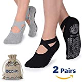 Best Yoga Socks - Ozaiic Yoga Socks for Women Non-Slip Grips Review