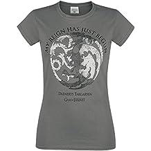 Juego de Tronos Reign of Targaryen Camiseta Mujer Gris