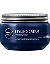 Nivea Men Styling Cream, Natural Look, 3er Pack (3 x 150 ml)