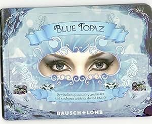 Bausch & Lomb Optima Natural Look Contact Lenses(1 Lens / Box) Blue Topaz Thr