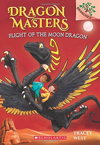 Flight of the Moon Dragon (Dragon Masters) por Tracey West