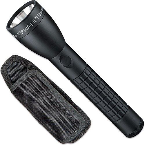 Preisvergleich Produktbild ML50LX Mag-Lite LED 2C-Cell Stablampe, 490 Lumen, schwarz inkl. Holster SET-4T41