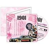 A TIME TO REMEMBER 1981 THE CLASSIC YEARS - GLUECKWUNSCH-UND CD für alle besonderen Anlässe