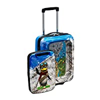 MUST BUY Kids Amazing Cabin Play Suitcase Activity Luggage Case For Children PA402 Penguin