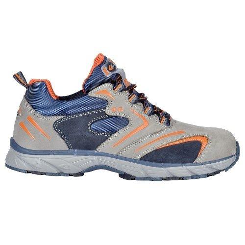 Cofra, JV040-000, Scarpe di sicurezza S3 Nuova Squash lavoro volanti, dimensioni scarpe da lavoro 40, grigio