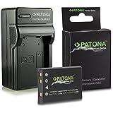 Cargador + Premium Batería EN-EL5 ENEL5 para Nikon Coolpix 3700 | 4200 | 5200 | 5900 | 7900 | P3 | P4 | P80 | P90 | P100 | P500 | P510 | P520 | P5000 | P5100 | P6000 | S10 y mucho más… [ Li-ion; 1200mAh; 3.7V ]