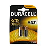 Duracell MN21 Alkaline Batteries (Pack of 2) - A23 - 23 A - 12 V