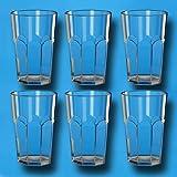 6er-Set Caipirinha Glas 0,3 l aus SAN Kunststoff