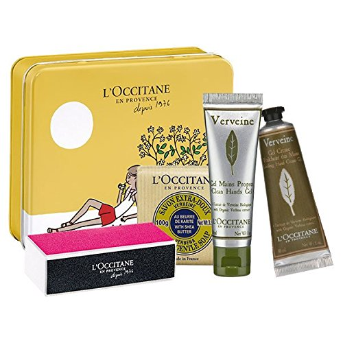 LOccitane Verbena hands care kit