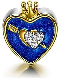 NinaQueen Cupido Abalorio de mujer de plata de ley