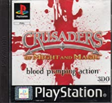 crusaders of might e magic ps1 (pal)
