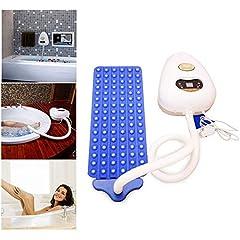 Idea Regalo - XHLLX Full Body Spa Bubbling Vasca Termica Macchina del Massager, Motori Pompa d'Aria, Impermeabile Air Bubble Bath Tub Tappettino Che Massaggia con Telecomando