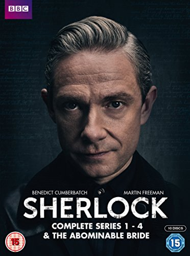 Sherlock - Series 1-4 & Abominable Bride Box Set [DVD] [2016]