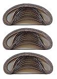 36 Gewebe-Schleifbänder 13x457 mm Mixpack für Powerfeile von Black & Decker 6x Körnung 40/60/80/120/180/240