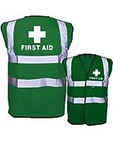 First Aid Green Hi Viz Vest
