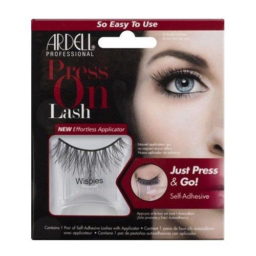 ARDELL Press On Lash Self-Adhesive Wispies Black