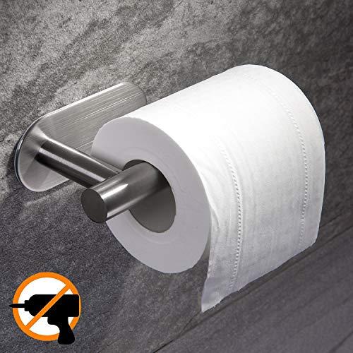 Ruicer Toilettenpapierhalter Ohne Bohren, Klorollenhalter Selbstklebend  Klopapierhalter Edelstahl Fü