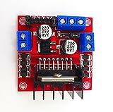 L298N DC Mini Stepping Motor Controller Driver Shield Doppio canale H-ponte 5V-35V Modulo Scheda per Smart Car Robot Micro Arduino