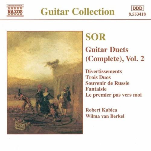 3 Duos faciles et progressifs, Op. 55: No. 1. Allegretto