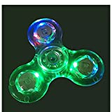 #9: Premsons Fidget Hand Spinner with Light, Multi Color
