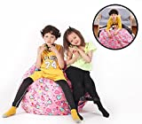 Soft Comfort Cover, Perfect Storage Solution for Toys, Clothes & Blankets, Machine Washable, Bright Color with Sweethear