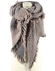 Echarpe Boucle XXL Passigatti echarpe pour l´hiver echarpe en tricot
