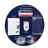 FFF Kit Officiel de Supporter : Bracelets, Drapeau, Peinture, Tap-Tap et Lunettes