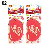 Best Car Fresheners - Jelly Belly Very Cherry Flavour 2D Hanging Car Review
