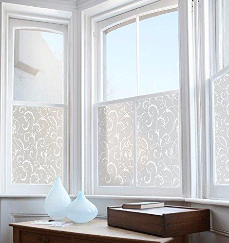 Rabbitgoo pellicola smerigliata per finestre vetri fiori - Vetri antiriflesso per finestre ...