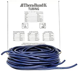 Thera-Band Resistive Exercise Tubing - 30.5m Extra Strong, Blue