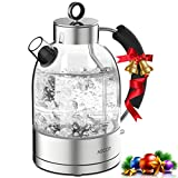 Glass Electric Kettle - Glass Water Kettle with Fast Heating, Fast Boil Tea