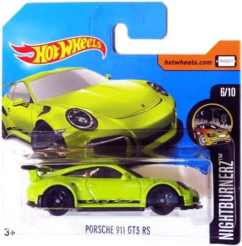 Preisvergleich Produktbild HOT WHEELS® Porsche 911 GT3 RS - 1:64 - grün