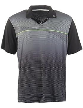 Hochwertiges Polo-Shirt Marke ISLAND GREEN für Golf oder Freizeit; sportlicher Look atmungsaktives Funktionsmaterial...