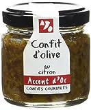 Accent d'Oc Confit d'Olive au Citron 90 g - Lot de 2