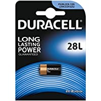Duracell 28L batterie au lithium haute performance (2CR11108) 1 pièce