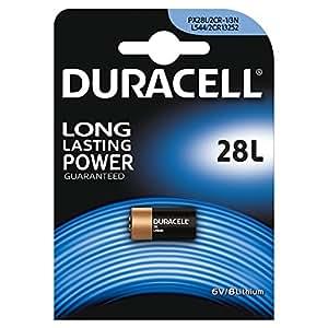 Duracell 28L Lithium-Hochleistungsbatterie (2CR11108) 1 Stück
