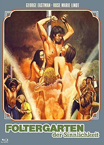 Foltergarten der Sinnlichkeit (Emanuelle e Francoise) - Mediabook Cover A (+ DVD) - Limitiert auf 444 Stück [Blu-ray]