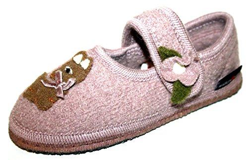 Wolle Rose Hausschuhe Mädchen Kinder Haflinger Slipper Schuhe 673052 Ninni nx7znwI8
