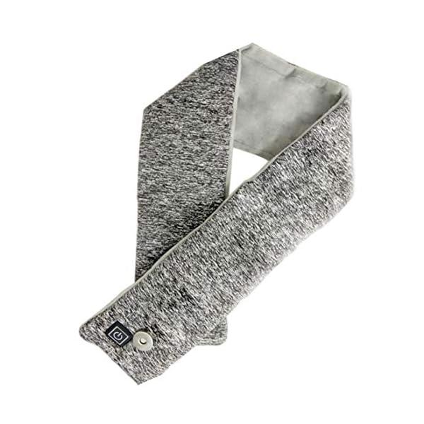 Unbne Powered USB climatizada Bufanda, Lavable a máquina climatizada Cuello del Abrigo de Invierno para Actividades al… 1