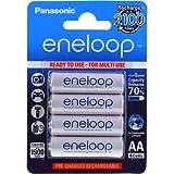 Original Panasonic eneloop HR-3UTGB 1900mAh NiMH 4er Pack, NiMH, 4x 1,2V