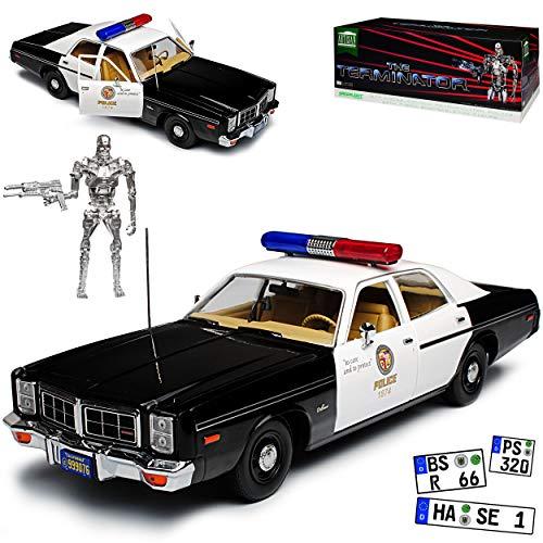 Greenlight Dodge Monaco Metropolitan Police 1977 Terminator gebraucht kaufen  Wird an jeden Ort in Deutschland