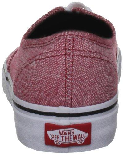 Vans Vscq7Io, Baskets mode mixte adulte Rouge (Classic Chambr)
