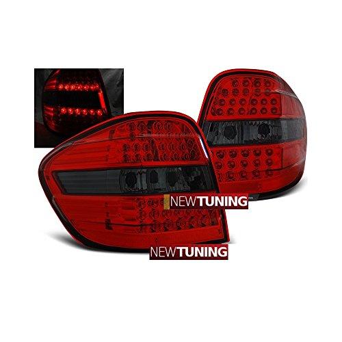 Preisvergleich Produktbild Rückleuchten Mercedes classe-m W164 05 – 08 Rot Rauchmelder LED