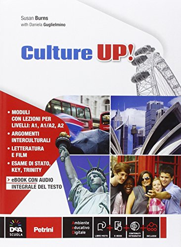 Culture up e DVD. Per la Scuola media. Con CD Audio. Con e-book. Con espansione online