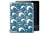 creatisto Schutzfolie Apple iPad 3   Tablet-Tasche Folie Sticker Aufkleber Schutz-Folie Motiv Design Sleeve   Design Motiv Große Welle