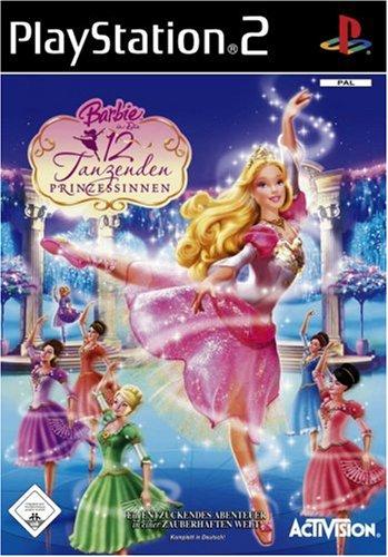 Barbie und die 12 tanzenden Prinzessinnen [Software Pyramide] (Barbie Ps2)