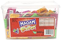 Maoam Stripes - Fruit Flavour Chew 120 Tub