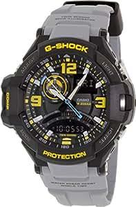 Casio Herren-Armbanduhr XL G-Shock Superior Series Chronograph Quarz Resin GA-1000-8AER