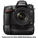 Pixel Grip de batterie pour Nikon D600/ D610